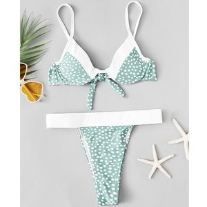 NWOT Polka Dot Bikini